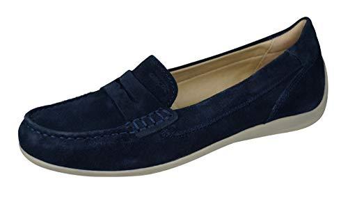 Geox Mujer Mocasines D Yuki, señora Zapatilla Deportiva, Calzado de Medio Zapato,Slip-on,Zapato...