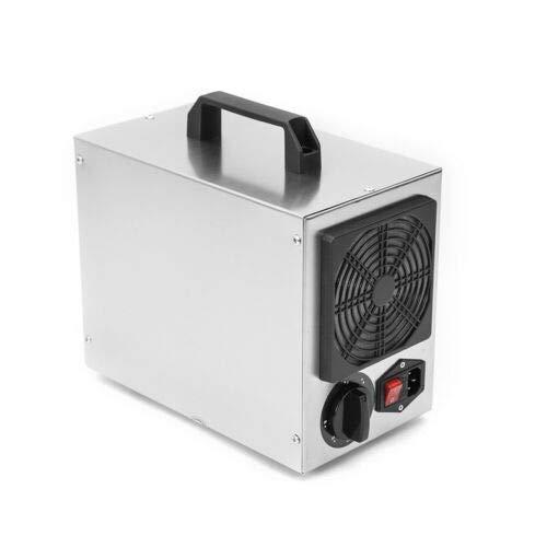 Generador de ozono profesional, 7 g 7000 mg/h, purificador de aire de construcción, dispositivo de ozono, temporizador para habitaciones, garajes, granjas, hoteles, limpia hasta 140 ㎡