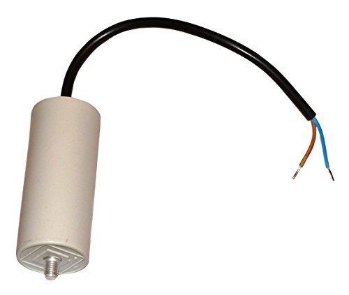 Aerzetix condensator voor motor 25μF 425 V met kabel 25 cm voorbedraad