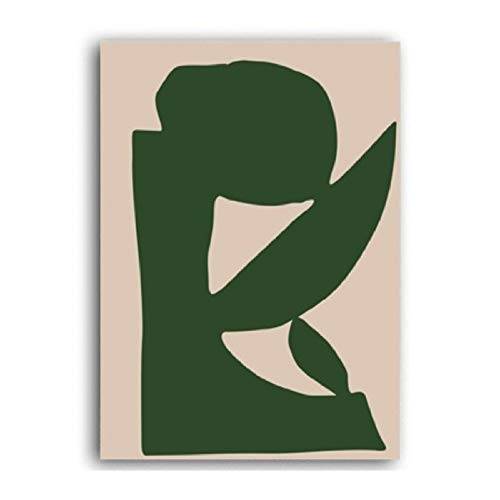 XWArtpic Vintage Abstrakte Matisse Linie Figur Minimalistischen Europa Leinwand Malerei Poster Drucke Wandkunst Bilder Wohnzimmer Wohnkultur C 30 * 40 cm