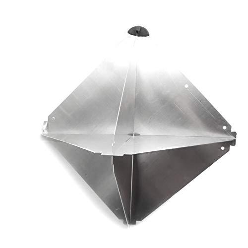 Nuova Rade Reflector de radar (aluminio, 340 x 340 x 470 mm)