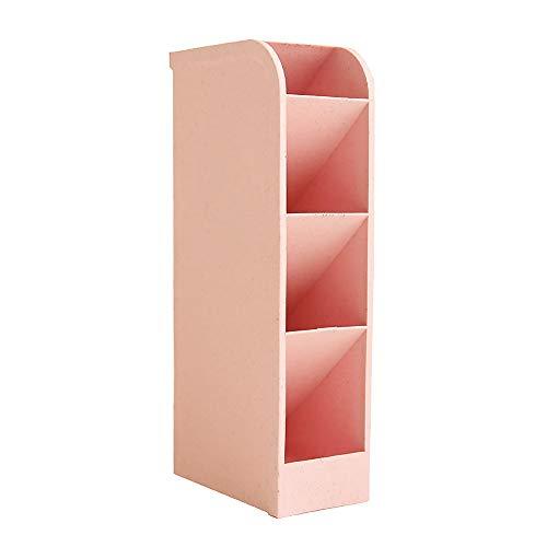 Schreibtisch-Organizer für Büro/Schule/Schreibtisch/Schreibtisch/Organizer/Organizer für Büro/Studenten/Lehrer/Schulbedarf 7.9 x 3.5x 1.8 inches rose