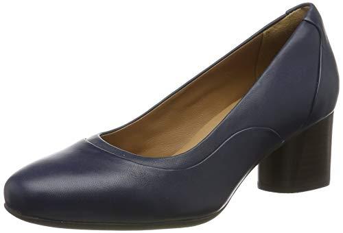 Clarks Damen Un Cosmo Step Pumps Braun (Aubergine Lea), 39 EU