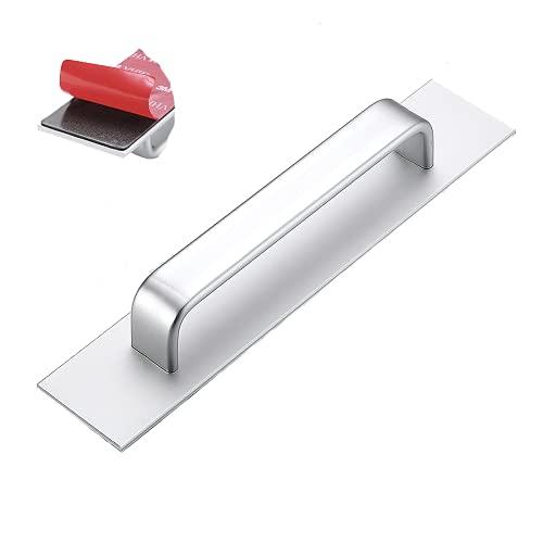 Tirador de puerta exterior de aleación de aluminio, instalación sin clavos, adecuado...