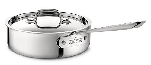 Batterie de Cuisine 5 Pièces All-Clad en Acier Inoxydable - Modèle 401599 - 5