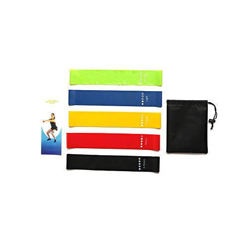 Haisea Resistance Bands- Latex Oefening Bands Resistance-Mini, Benen, armen, Heup, Yoga Resistance Band-Oefening Stretch Bands Resistance-Gym Oefening Bands,Resistance Bands voor mannen en vrouwen