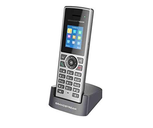 Grandstream Networks DP722 - Teléfono IP (Negro, Gris, Terminal inalámbrico, 3.5mm, 50 m, 350 m, TFT)