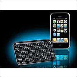 Mini Bluetooth Tastatur fur PC iPhone Smartphone Co GeneralKeys
