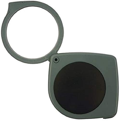 TFA Dostmann Taschenlupe, Vergrößerung 3-fach, Einschlaglupe, Sehhilfe