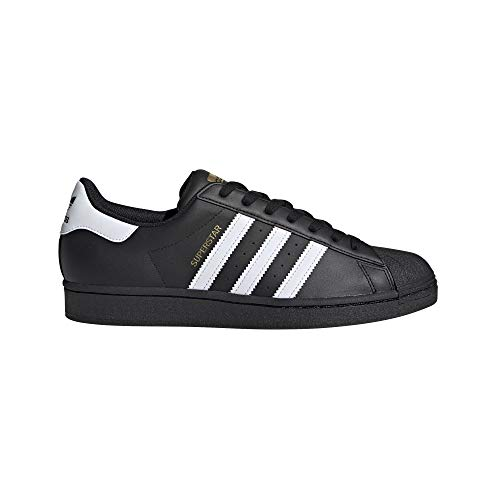 adidas Originals Superstar Shoes, Zapatillas Hombre, Negro, Blanco y Negro, 51 EU