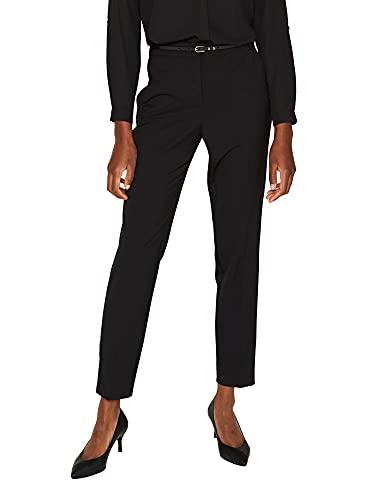 ESPRIT Collection Damen 999Eo1B801 Hose, Schwarz (Black 001), W(Herstellergröße: 42)