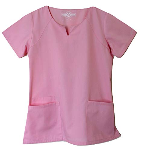 Smart Uniform 1706 R Neck (M, Rosa [ Pixel Pink] 1)