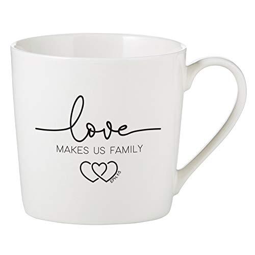 Love Makes Us A Family Mug