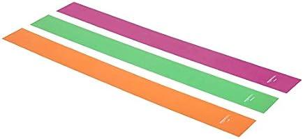 amazonbasics TPE Resistance Band - 1500mm, 3-Piece Set