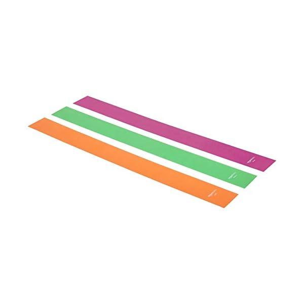 AmazonBasics TPE Resistance Band – 1500mm, 3-Piece Set