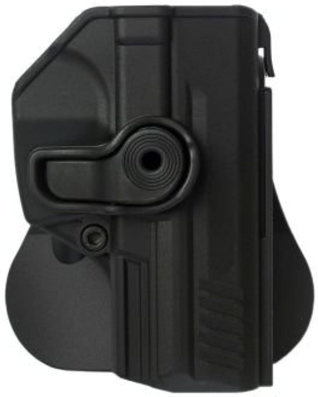 HK P2000 holster Polymer Retention Holster by IMI Black and a genuine IGWS's firing range earplugs kit.