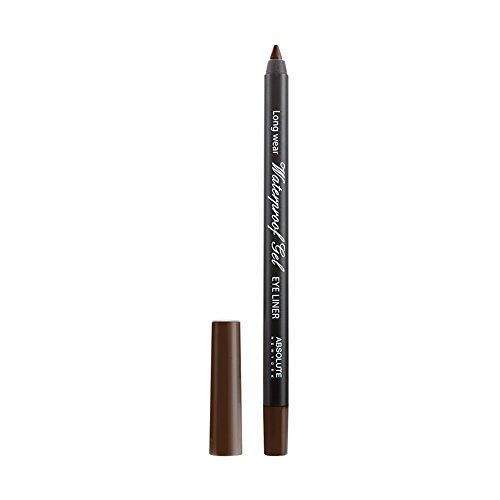 Absolute New York Waterproof Gel Eye Liners (Dark Brown (NFB83))