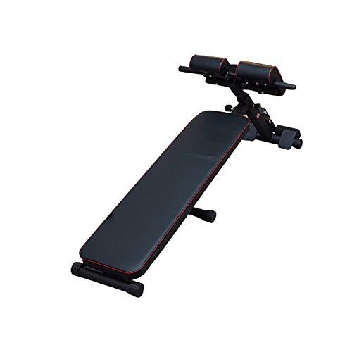 Flexiones en posición supina, Peso banco de inclinación ajustable Disminución ejercicio del entrenamiento del Banco for el hogar gimnasio de pesas y entrenamiento de la fuerza Máquina de ejercicio abd