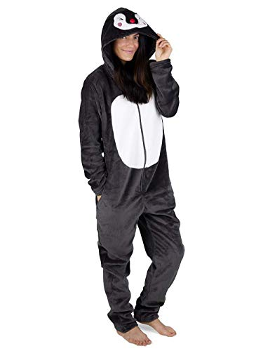 CityComfort Ladies Onesies (XL (20-22), Penguin)