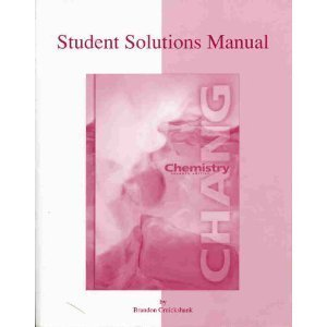 Paperback Chemistry (Student Solutions Manual, 7th Edition) Book