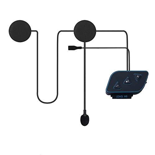 Motorcycle Helmet Bluetooth Headset with Power Bank Function Wireless Bluetooth 5.0 Ultra-Thin Helmet Speaker High Sound Quality Waterproof Bluetooth Headphones for Motorbike Sport Handsfree/Music/GPS