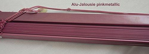 erfal Aluminium-Jalousie 120x175 cm (BxL) Pink-Metallic