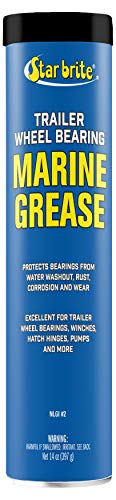 Star brite Wheel Bearing Grease - Boat Trailer Marine Grade - 14 oz Grease Gun Cartridge
