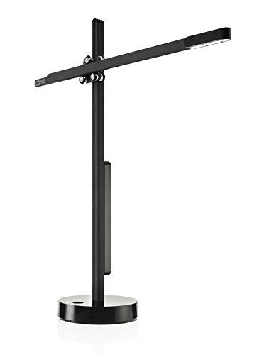 Jake Dyson Csys Task LED Tischleuchte, schwarz, EU 6, mit sensordimmer, dyson, mit drehbarem sockel, höhenversellbar, Baukran led Leuchte, Black