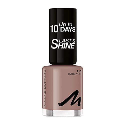 Manhattan Last und Shine Nagellack, Nr.210 Dare You, 1er Pack (1 X 10 ml)