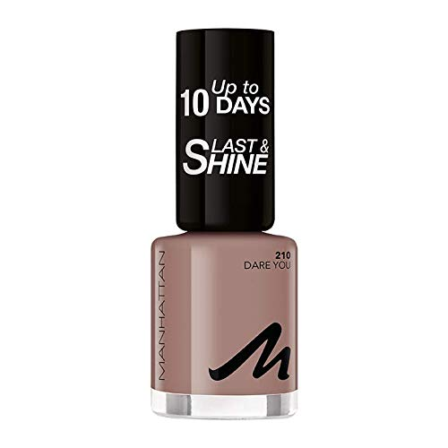Manhattan Last und Shine Nagellack, Nr.210 Dare You, 1er Pack (1 X 10 ml)