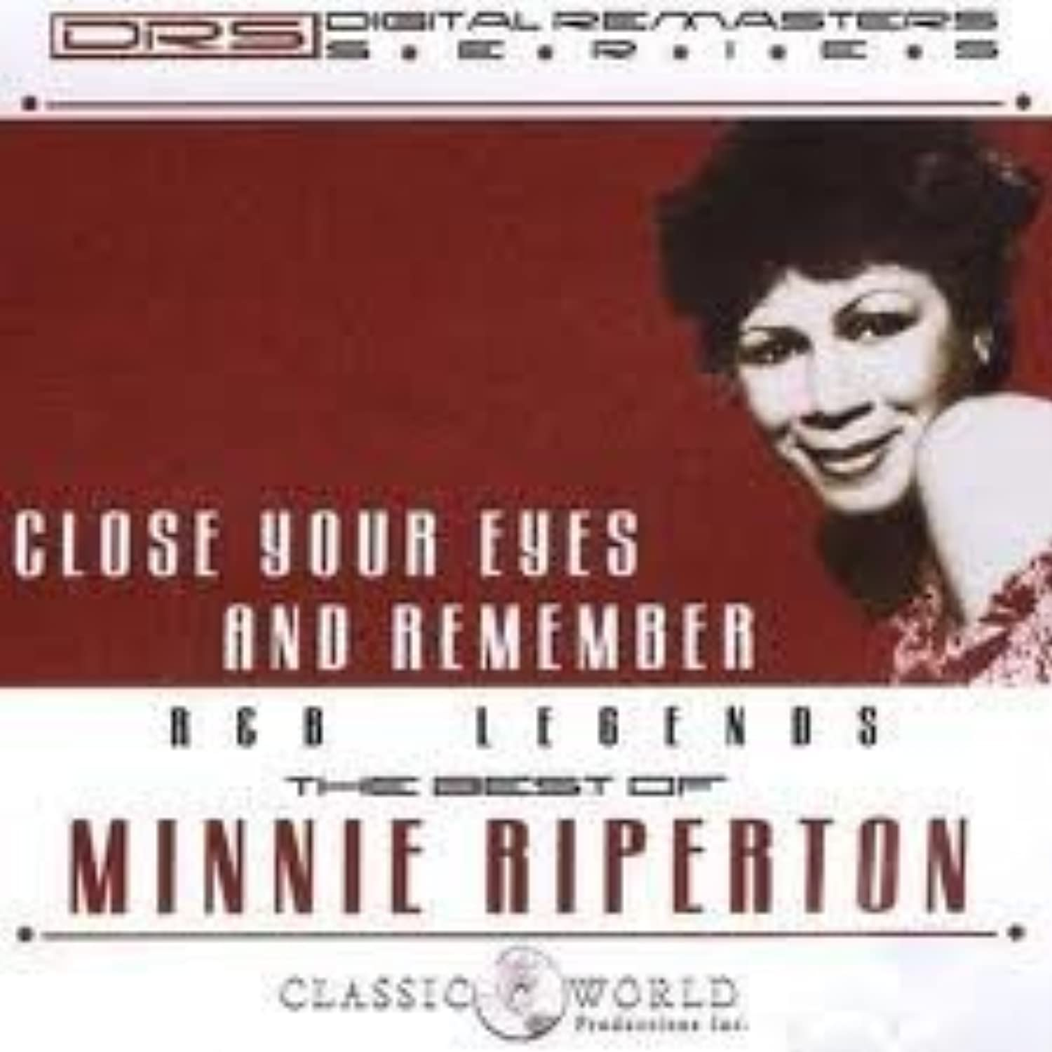 R & B Legends: The Best of Minnie Riperton - Close Your Eyes and Remember by Minnie Riperton dwgnsb2538524