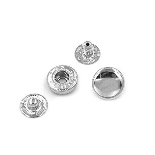 SuoSuo NXCY01 500 Conjuntos/Snap lot15mm Metal.Botones de sujeción, Remache, T8 T5 T3 Encaje Botones de la Chaqueta Ropa y Accesorios.Costura de broches de presión de reparación