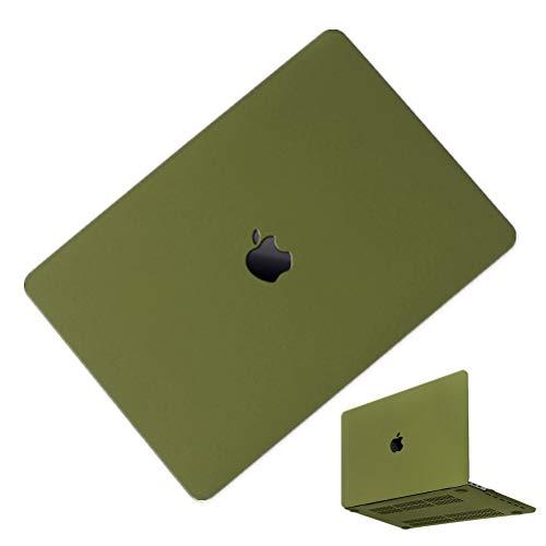 MacBook Air 13インチ A1466/A1369 ケース 2016モデル 2017モデル MacBook Air 13inch ケース マックブックエアー 13インチ ハードケース 耐衝撃 薄型 全面保護 かわいい おしゃれ シェルカバー 薄型 スリム 軽量 マックブック カバー マット グリーン