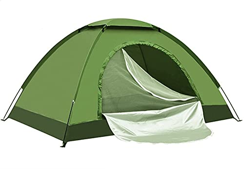 Camping Tiendas de campaña Camping al Aire Libre Portátil Impermeable Senderismo Tienda Anti-UV Sun Shade Ultralight Tienda Tienda Tipi (Color : Armygreen 2 Person)