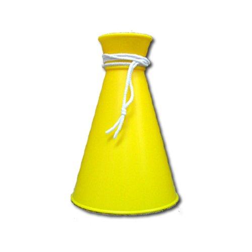 [プロモ] ミニ メガホン (黄色) コンパクトサイズ [野球 サッカー スポーツ 応援 グッズ] 体育祭 イベント