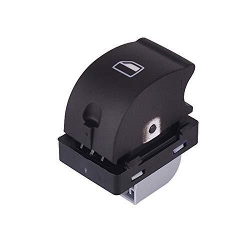 OLDJTK 1pcs OEM 8ED959855 Interruptores de elevación de la Ventana for For Audi A4 B6 B7 Sedan 2.0T Control del Panel Delantero Delantero Delantero Interruptor de la Ventana Trasera (Color : Black)