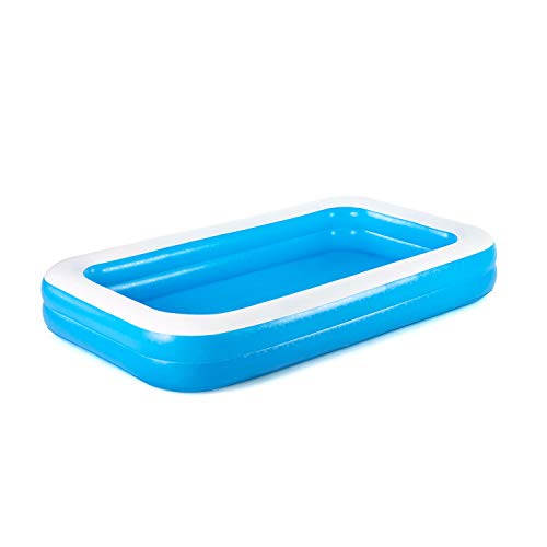Piscina Familiar Bestway 54150 - Piscina Inflable - 305 x 183 x 46 cm - Paredes Laterales Extra Anchas - 3+