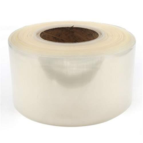 Pangyoo PYouo krympslang 18650 batteri värmekrympslang, bredd 85/280 mm, PVC, isolerad film wrap Protect Case, kabelhylsa skyddssats (färg: Klar, inuti diameter: 190 mm bredd)