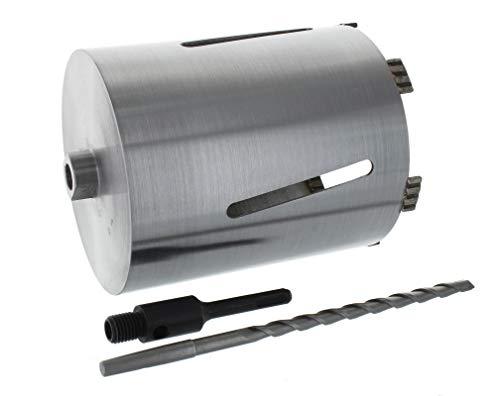 Diamant Bohrkrone SDS-plus Aufnahme und Zentrierbohrer Nutzlänge 180 mm Ø 152 mm Betonbohrkrone Kernbohrer