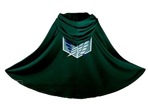 Armin Arlert Capa con Capucha Attack on Titan Shirt SNK Manta con Capucha Wings of Liberty Cloak