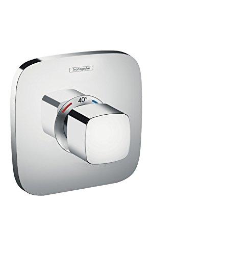 hansgrohe Ecostat E Unterputz Highflow Thermostat, für 1 Funktion, Chrom