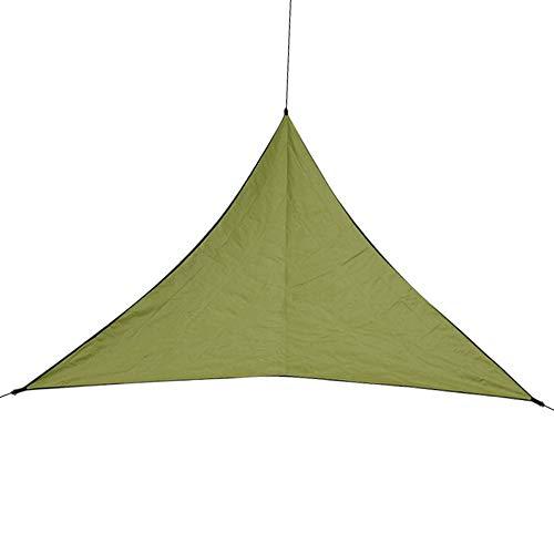 LULUVicky Carpa para CampingTienda De Campa?a para Exteriores, Red Triangular para Jardín, Tienda De Vela, Tienda De Campa?a SolarCarpa del Festival (Size:600x600x600cm; Color:Army Green)