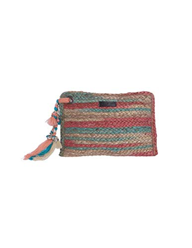 FOR TIME Jute Africa Clutch