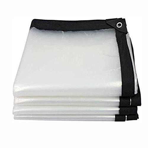 FXPCYGZ Lona Transparente para Jardín Impermeable Anti Congelación Película Impermeable A Prueba De Lluvia Toldo De Aislamiento Cubierta De Plástico PE Cobertizo De Plantas(5 * 5m(16.4 * 16.4ft))