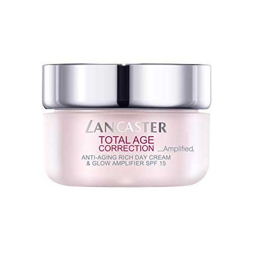 LANCASTER TOTAL AGE CORRECTION AMPLIFIED - Anti-Aging Rich Day Cream & Glow Amplifier SPF15 50 ml