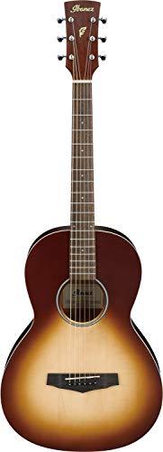 IBANEZ PF-Serie Akustik Gitarre Parlor 6 String - Open Pore Natural Browned Burst (PN19-ONB)