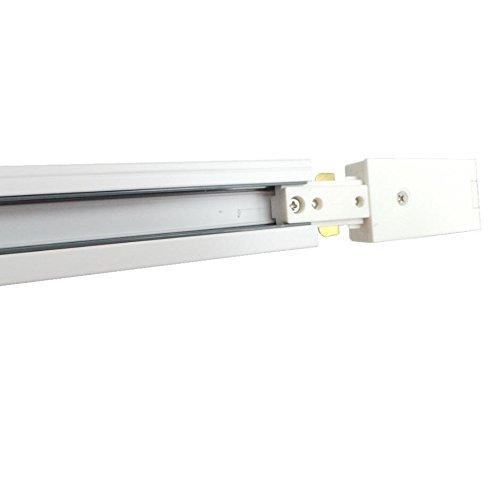 Rail Monophasé pour Spot LED 1m50 BLANC - Blanc
