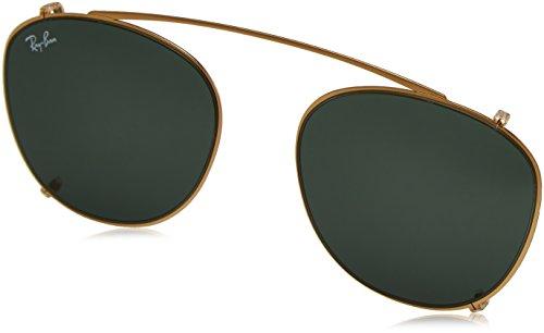 Ray-Ban 0Rx6355C, Monturas de Gafas para Hombre, Marrón (Gold), 47