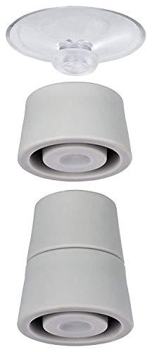 WENKO Pieds pour plaques de protection - pieds de rechange, Polychlorure de vinyle, 4.4 x 5 x 4.4 cm, Transparent