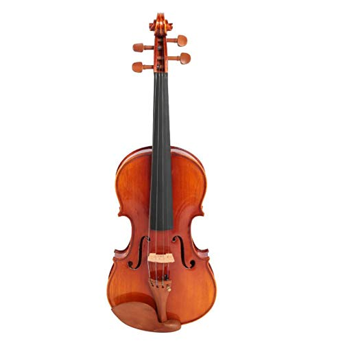 Accesorios portátiles para instrumentos musicales no tóxicos Madera 4/4 Violín Conventient con caja de colofonia de cuerda de arco para uso profesional